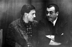 Ученик и учитель. Владимир Высоцкий с Михаилом Анчаровым
