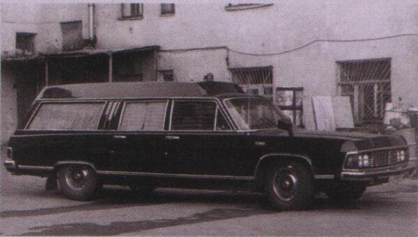 Чайка узкоспециализированного назначения - последние годы использовалась только в качестве катафалка.