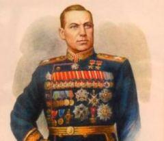Маршал Советского Союза, маршал Польши, дважды Герой Советского Союза Константин Константинович Рокоссовский