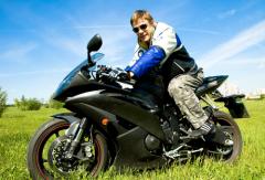 Ваш первый мотоцикл – снаряд для обучения вождению.