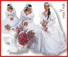 Что скрывает венчальный наряд невесты?