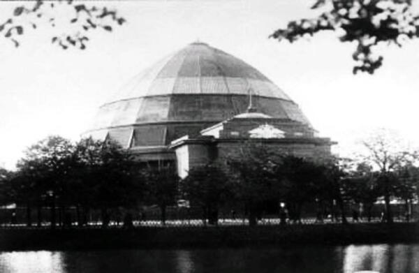 Павильон панорамы «Бородино» на Чистопрудном бульваре