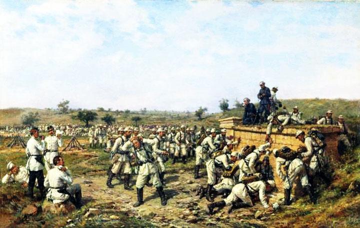 Как русский военный мундир стал