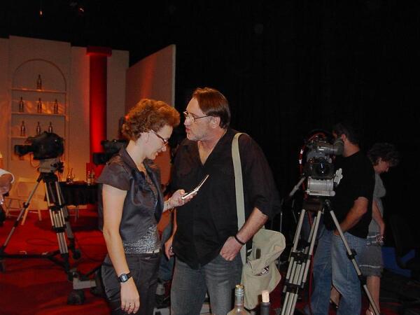 Владимир Фридман после съемки у Яна Левинзона 11сентября 2008 года. Фото автора