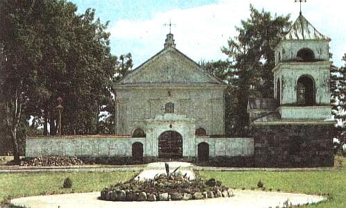 Костёл Святой Анны до реставрации.
