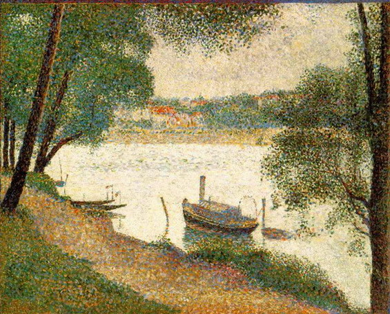 Gray Weather Giclee Print by Georges Seurat.