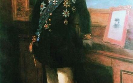 Автопортрет. 1892 г.