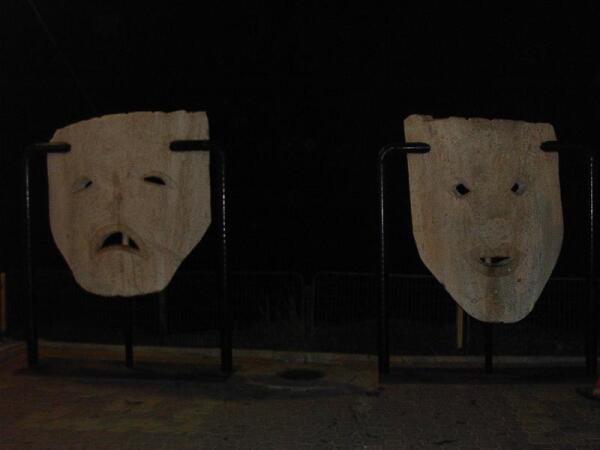 Эмблема фестиваля на набережной. Фото автора.