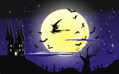 В настоящее время образ ведьмы на метле является логотипом городка Салем.