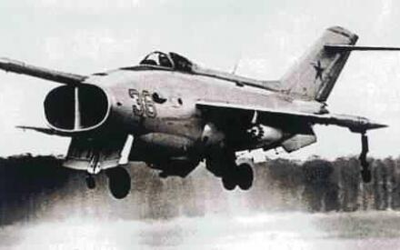 Первый советский СВВП ЯК-36