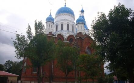 Покровский собор в Гатчине, освящен в 1914г.
