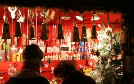 Развалы рождественского базара