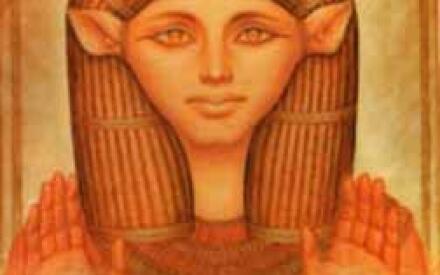 Нут, богиня и корова