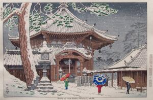 Asano - Snow in Nan-Endo Temple, Nara