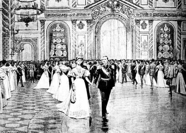 Придворный бал при Николае II