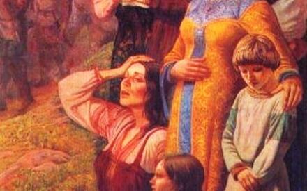 Ю. М. Ракша. Проводы. Часть триптиха «Поле Куликово»