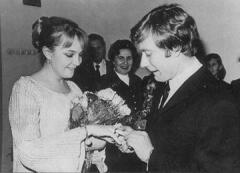 Брак Андрея Миронова и Екатерины Градовой, заключенный по большой любви,  оказался недолгим...