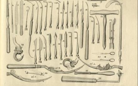 Хирургические инструменты 19-го века