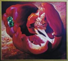 Красный перец. Аркадий Острицкий. Холст, акрил. 2005
