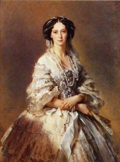 Мария Александровна (урожденная принцесса  Дармштадтская). Волей судьбы она стала супругой великого князя Александра