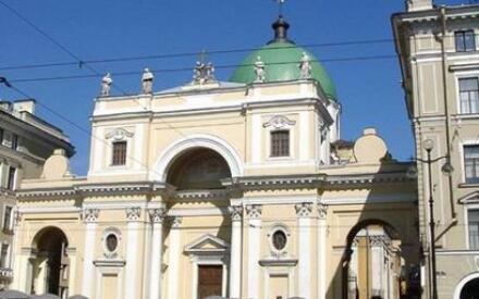 Католический костел Св. Екатерины Александрийской. Фото Кудас С. Н.