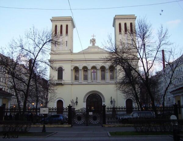 Евангелическо-лютеранская церковь Св. Петра, фото www.spbtour.