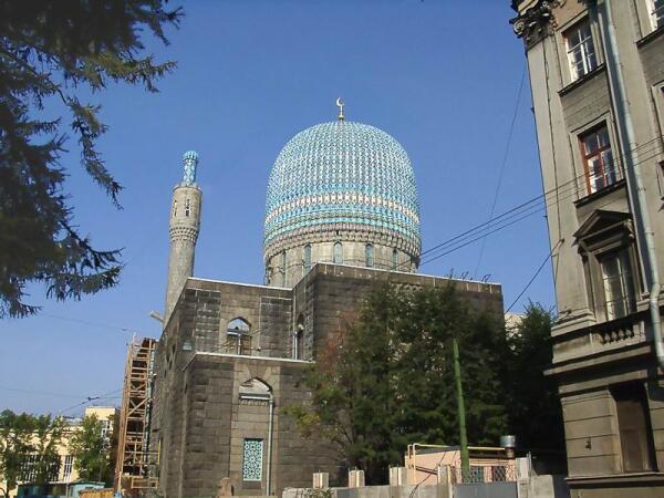 Соборная мусульманская мечеть. Фото Кудас С. Н.