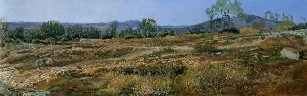 Иванов Александр Андреевич. Монтичелли близ Тиволи. 1843г