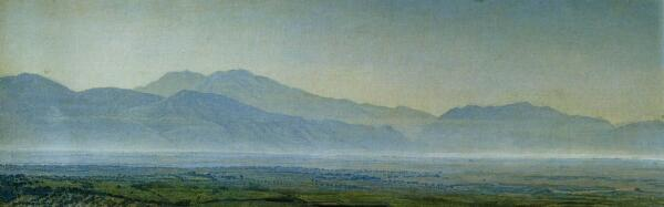 Понтийские болота. 1838г