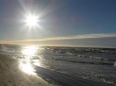 Балтийское море - всегда манит, но за видимой красотой всегда скрывается опасность