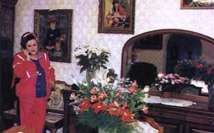 Теперь у Зыкиной целая галерея картин известных мастеров, есть даже Ренуар (в её собственном исполнении)