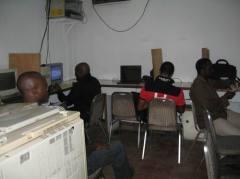 Интернет-кафе в Нигерии