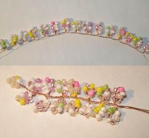 плести браслеты из бисера для детей
