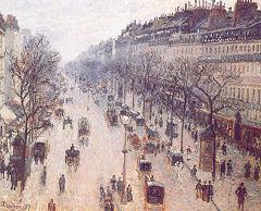 Камиль Писсарро (1830−1903) Бульвар Монмартр после полудня. Солнечно 1897