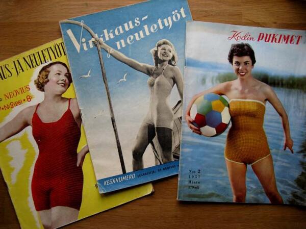 Обложки финских журналов