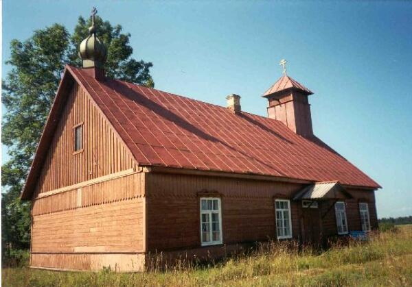 Церковь  староверов Федосеевского согласия  в Бурятии.