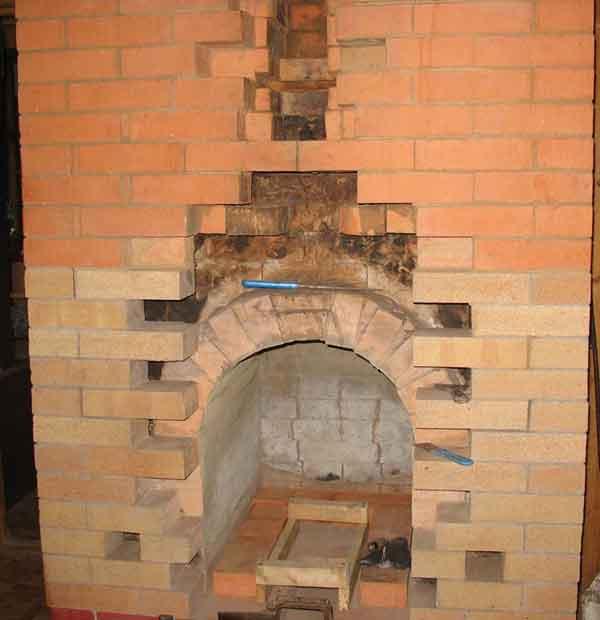 дровяные кирпичные печи для дома - Нужные схемы и описания для всех.