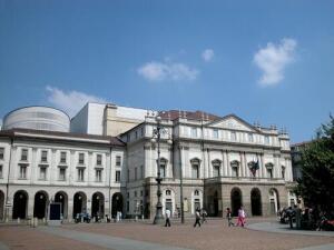Ла Скала, Милан. И здесь по нотам музыка звучит...