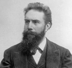 Вильгельм Конрад Рёнтген (Wilhelm Conrad Röntgen) (1845-1923)
