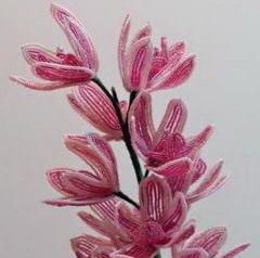 Цветы из бисера – это настоящее