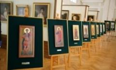 Выставка мерных икон в Пскове (Фото с сайта pskov.novchronic.ru)