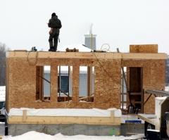 Как построить свой дом зимой?
