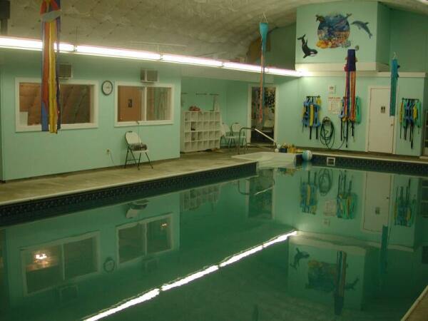 Небольшой школьный бассейн в Elementary school. Фото с сайта www.neighbornhood.flickr.com