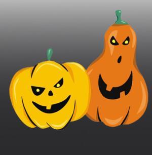 Тыква - обязательный атрибут Хэллоуинской вечеринки!