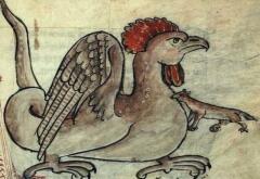 Василиск из средневекового бестиария