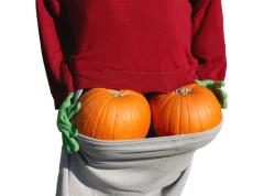 Чем угостить чертенка на Хэллоуин? Тыквенным вареньем!