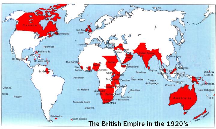 Британская империя (англ.  British Empire) крупнейшее из когда-либо...