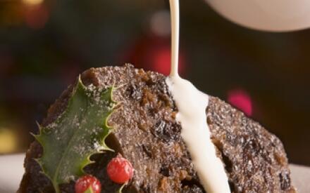 Коньячное масло— прекрасный соус для Рождественского пудинга