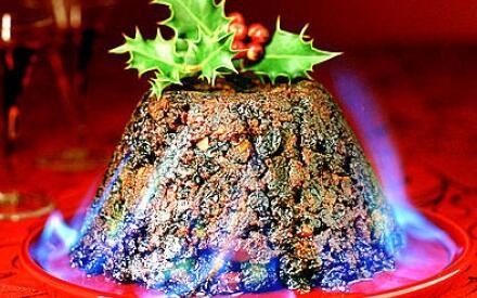 Рождественский пудинг во всем его великолепии