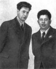 Братья Покрассы: Даниил (слева) и Дмитрий (справа)